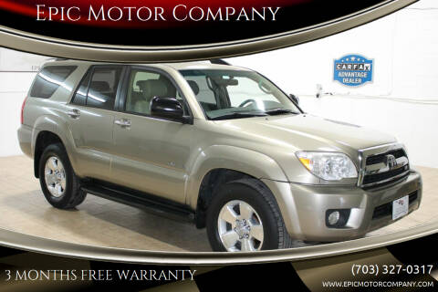 2006 Toyota 4Runner for sale at Epic Motor Company in Chantilly VA