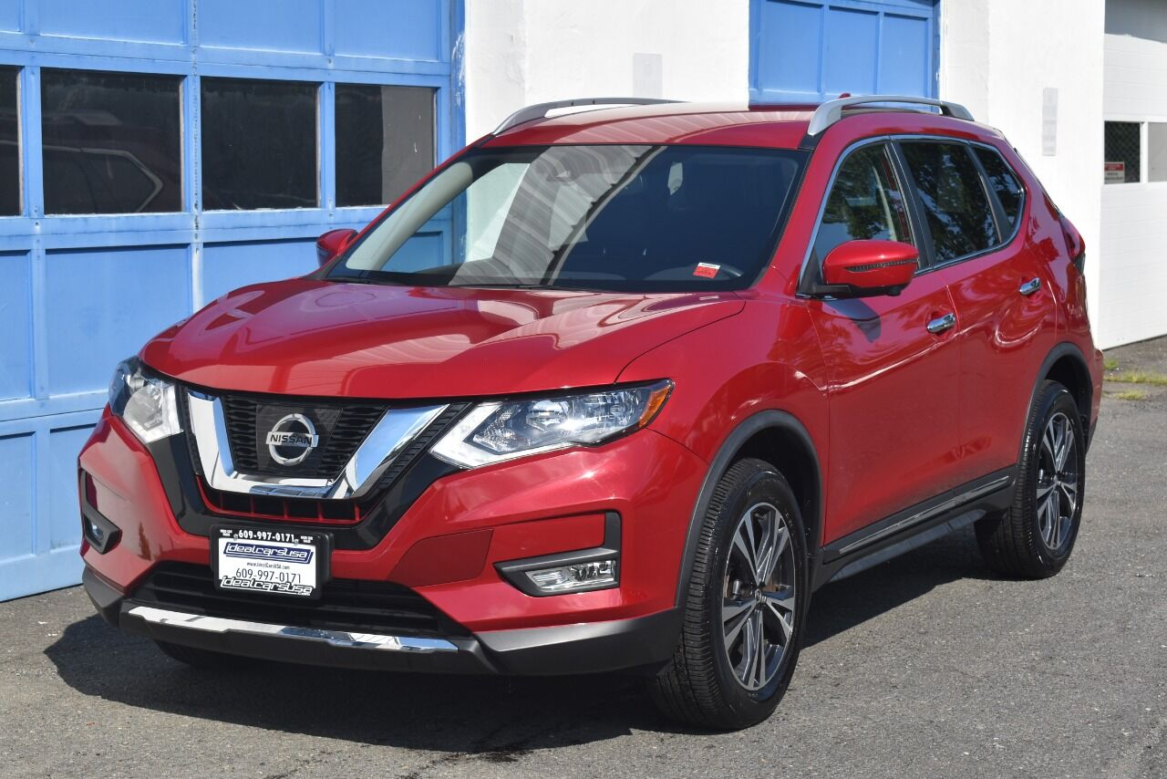 2017 Nissan Rogue SL AWD 4dr Crossover