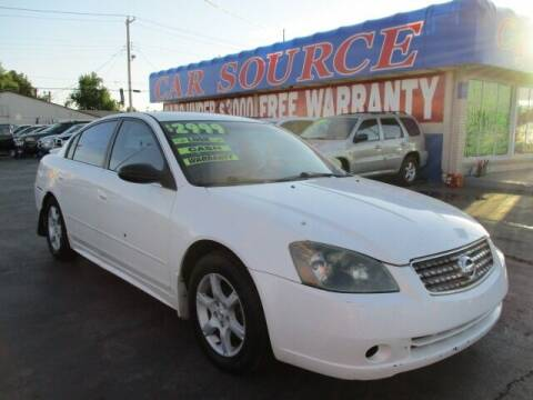 2005 Nissan Altima for sale at CAR SOURCE OKC in Oklahoma City OK
