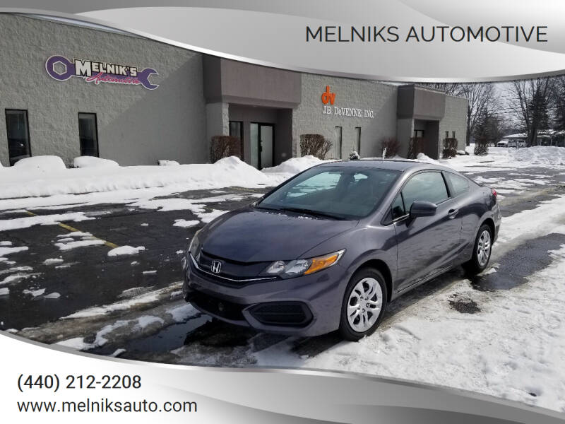 2015 Honda Civic for sale at Melniks Automotive in Berea OH