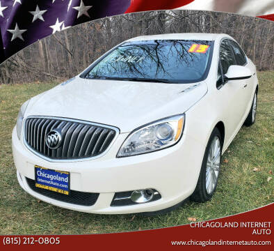 2013 Buick Verano for sale at Chicagoland Internet Auto - 410 N Vine St New Lenox IL, 60451 in New Lenox IL