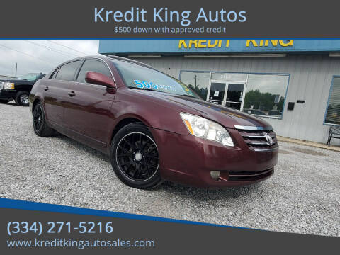 2007 Toyota Avalon for sale at Kredit King Autos in Montgomery AL