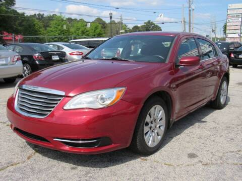 2014 Chrysler 200 for sale at King of Auto in Stone Mountain GA