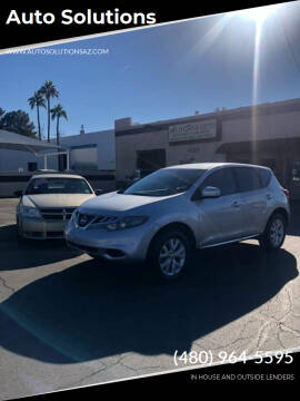 2011 Nissan Murano for sale at Auto Solutions in Mesa AZ