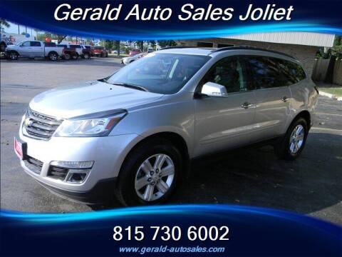 2014 Chevrolet Traverse for sale at Gerald Auto Sales in Joliet IL