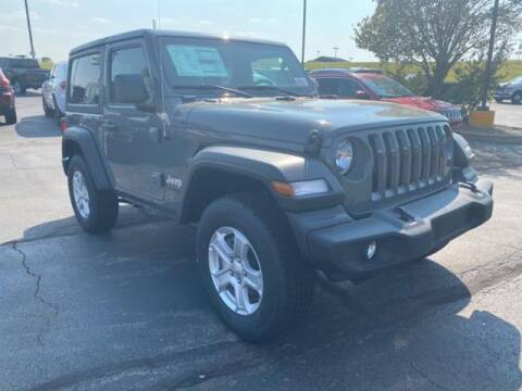 2020 Jeep Wrangler for sale at Vance Fleet Services in Guthrie OK