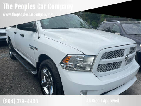 2014 RAM Ram Pickup 1500 for sale at The Peoples Car Company in Jacksonville FL