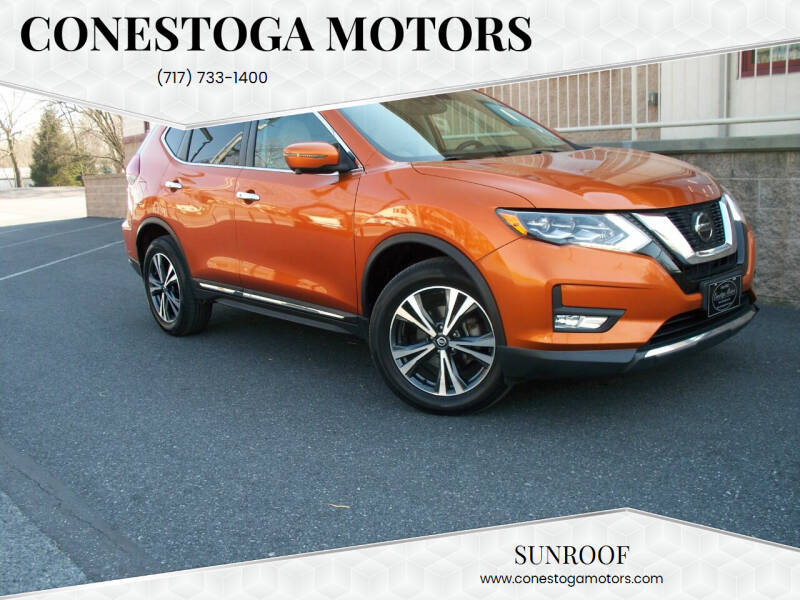 2018 Nissan Rogue for sale at CONESTOGA MOTORS in Ephrata PA