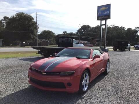 2015 Chevrolet Camaro for sale at LEE CHEVROLET PONTIAC BUICK in Washington NC