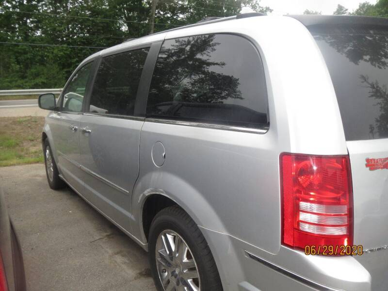 2008 Chrysler Town and Country for sale at D & F Classics in Eliot ME