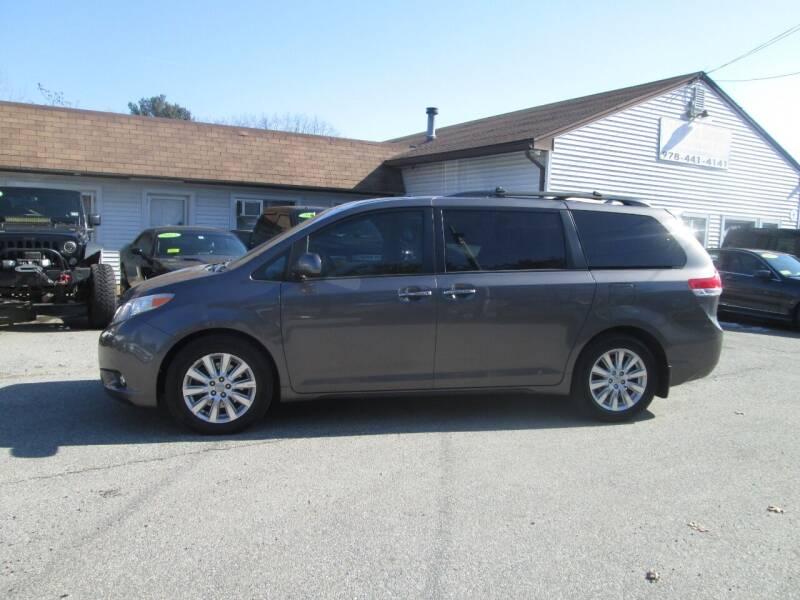 2012 Toyota Sienna AWD Limited 7-Passenger 4dr Mini-Van - Lowell MA