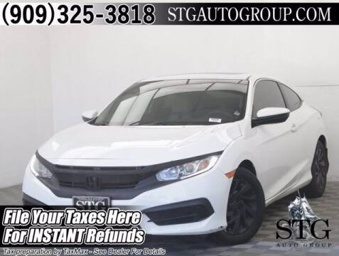 2016 Honda Civic for sale at STG Auto Group in Montclair CA