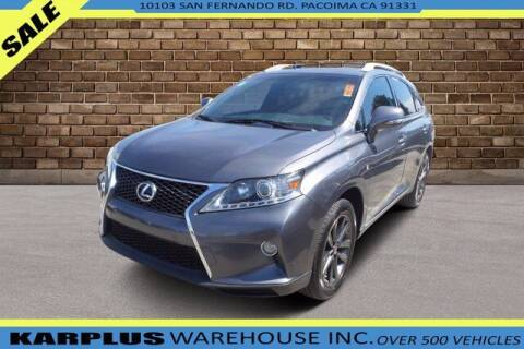 2013 Lexus RX 350 for sale at Karplus Warehouse in Pacoima CA