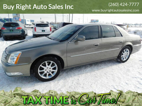 2011 Cadillac DTS for sale at Buy Right Auto Sales Inc in Fort Wayne IN