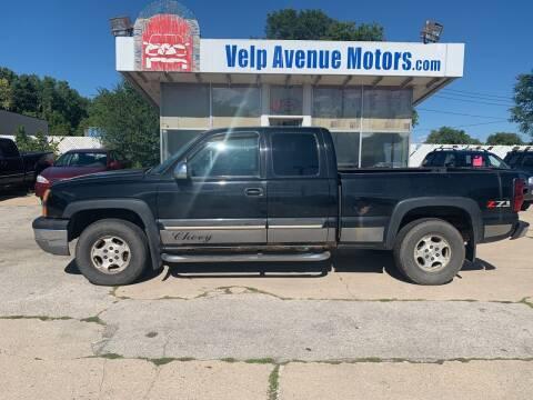 2004 Chevrolet Silverado 1500 for sale at Velp Avenue Motors LLC in Green Bay WI