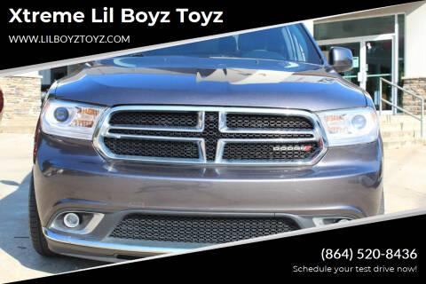 2016 Dodge Durango for sale at Xtreme Lil Boyz Toyz in Greenville SC