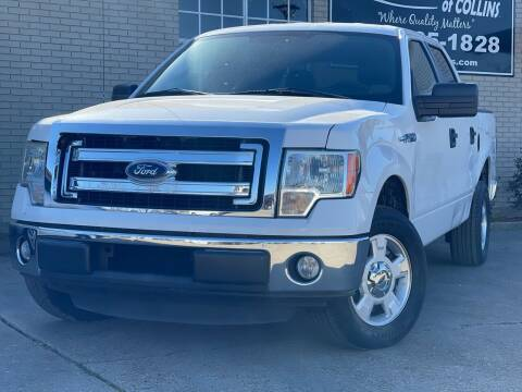 2013 Ford F-150 for sale at Quality Auto of Collins in Collins MS