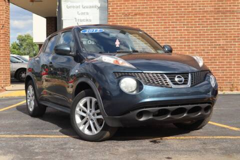 2012 Nissan JUKE for sale at Hobart Auto Sales in Hobart IN