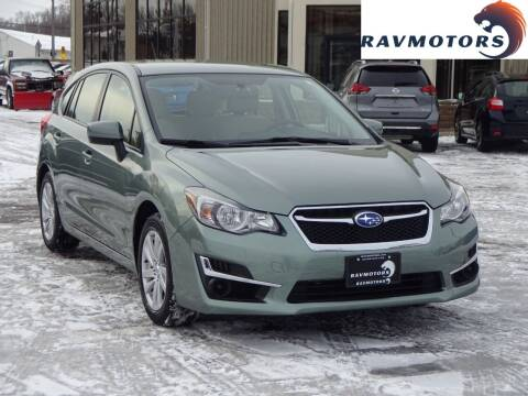 2016 Subaru Impreza for sale at RAVMOTORS 2 in Crystal MN
