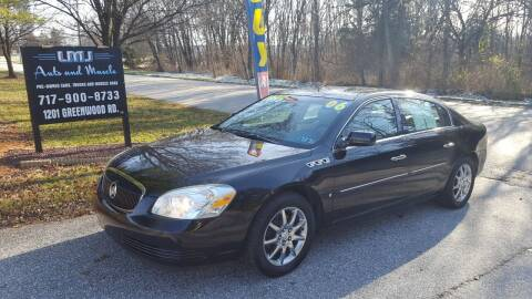 2006 Buick Lucerne for sale at LMJ AUTO AND MUSCLE in York PA