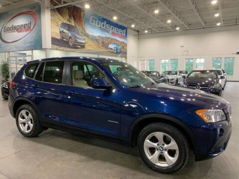 2012 BMW X3 for sale at Godspeed Motors in Charlotte NC