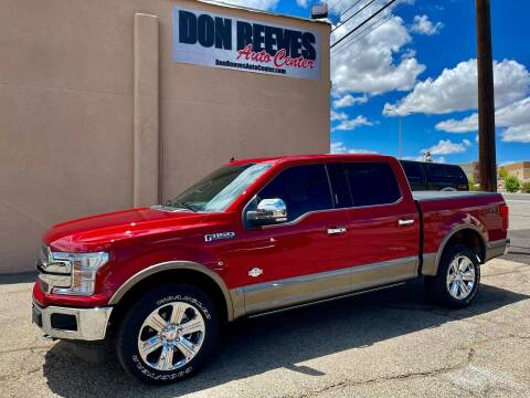 2019 Ford F-150 for sale at Don Reeves Auto Center in Farmington NM