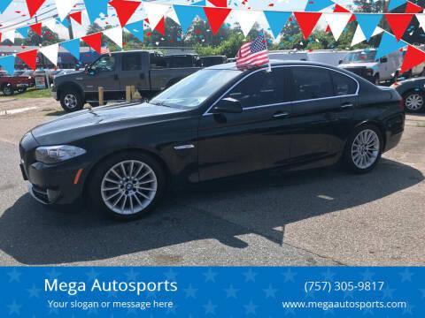 2013 BMW 5 Series for sale at Mega Autosports in Chesapeake VA