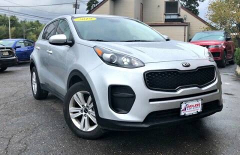 2019 Kia Sportage for sale at PAYLESS CAR SALES of South Amboy in South Amboy NJ