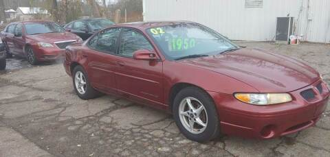 2002 Pontiac Grand Prix for sale at Superior Motors in Mount Morris MI