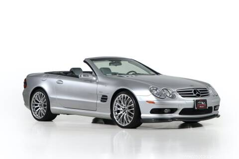 2004 Mercedes-Benz SL-Class for sale at Motorcar Classics in Farmingdale NY
