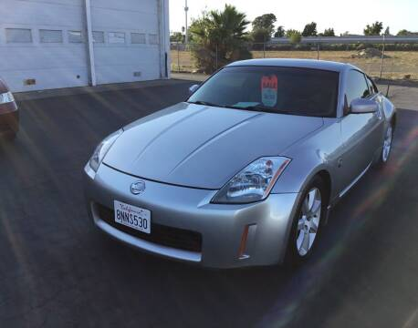 2003 Nissan 350Z for sale at My Three Sons Auto Sales in Sacramento CA