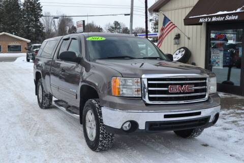 2013 GMC Sierra 1500 for sale at Nick's Motor Sales LLC in Kalkaska MI