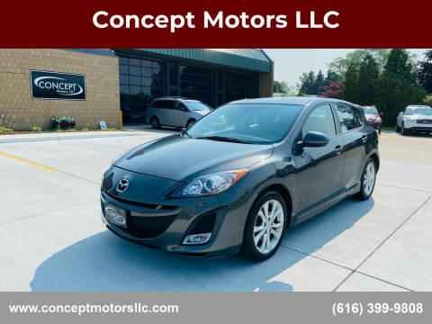 2010 Mazda MAZDA3 for sale at Concept Motors LLC in Holland MI