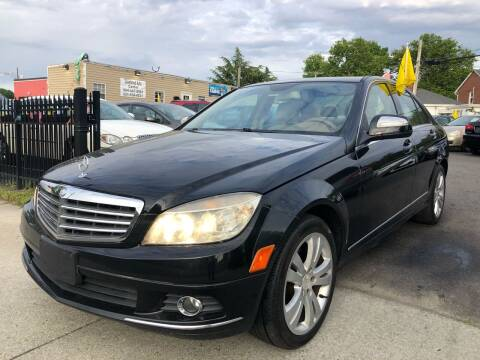 2008 Mercedes-Benz C-Class for sale at Crestwood Auto Center in Richmond VA