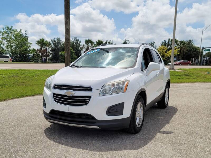 2016 Chevrolet Trax for sale at FLORIDA USED CARS INC in Fort Myers FL