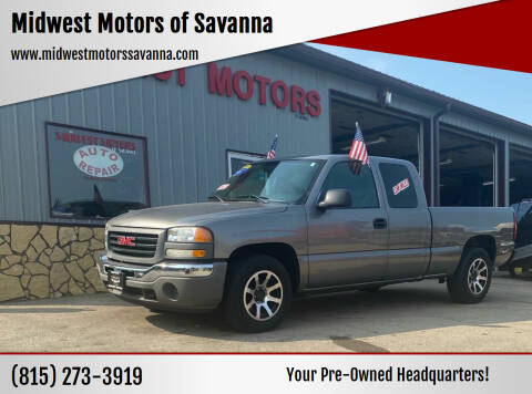 2007 GMC Sierra 1500 for sale at Midwest Motors of Savanna in Savanna IL