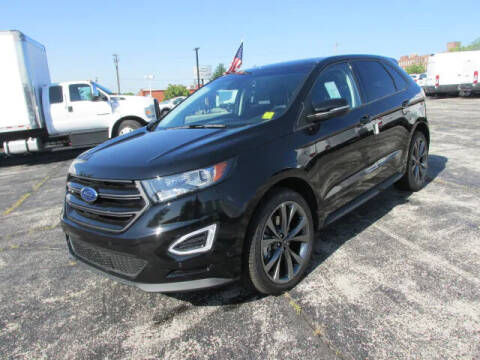 2018 Ford Edge for sale at BROADWAY FORD TRUCK SALES in Saint Louis MO