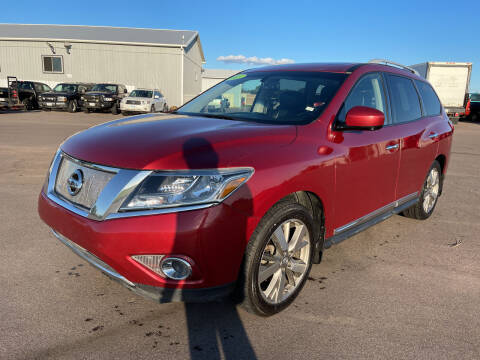 2015 Nissan Pathfinder for sale at De Anda Auto Sales in South Sioux City NE