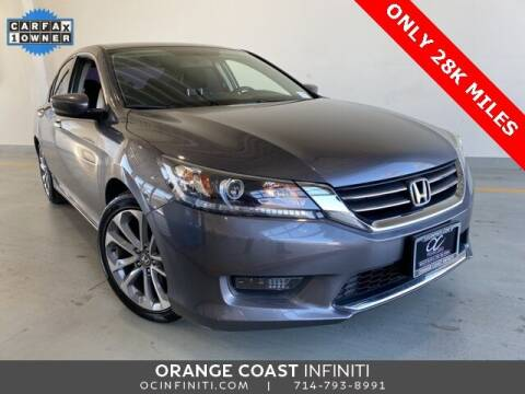 2015 Honda Accord for sale at ORANGE COAST CARS in Westminster CA