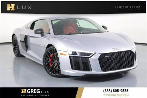 2018 Audi R8 for sale at HGREG LUX EXCLUSIVE MOTORCARS in Pompano Beach FL