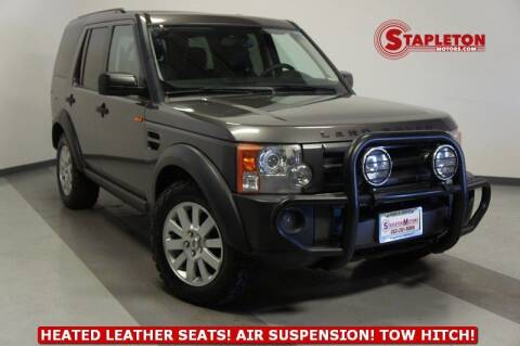 2006 Land Rover LR3 for sale at STAPLETON MOTORS in Commerce City CO