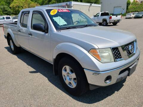 2008 Nissan Frontier for sale at New Jersey Automobiles and Trucks in Lake Hopatcong NJ