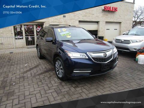 2015 Acura MDX for sale at Capital Motors Credit, Inc. in Chicago IL
