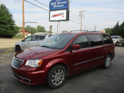 2016 Chrysler Town and Country for sale at Mill Street Motors in Worcester MA