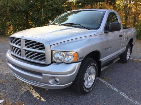 2005 Dodge Ram Pickup 1500 for sale at Motuzas Automotive Inc. in Upton MA