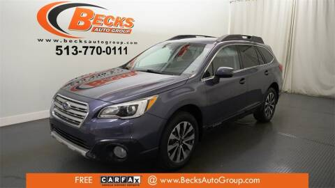 2017 Subaru Outback for sale at Becks Auto Group in Mason OH