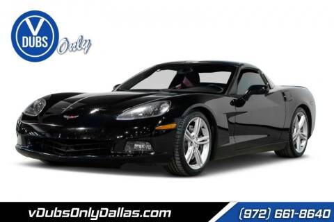 2011 Chevrolet Corvette for sale at VDUBS ONLY in Dallas TX