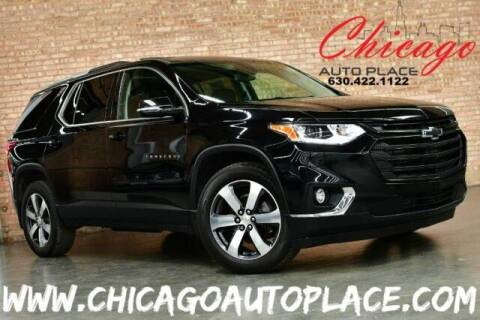 2018 Chevrolet Traverse for sale at Chicago Auto Place in Bensenville IL
