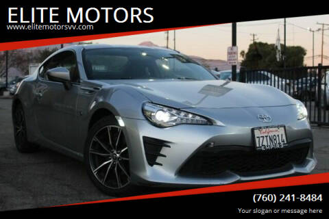 2017 Toyota 86 for sale at ELITE MOTORS in Victorville CA