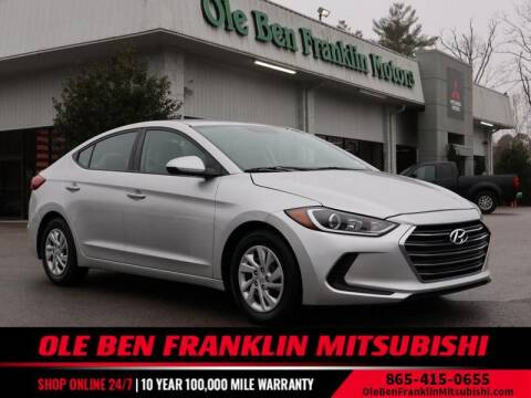 2017 Hyundai Elantra for sale at Ole Ben Franklin Mitsbishi in Oak Ridge TN